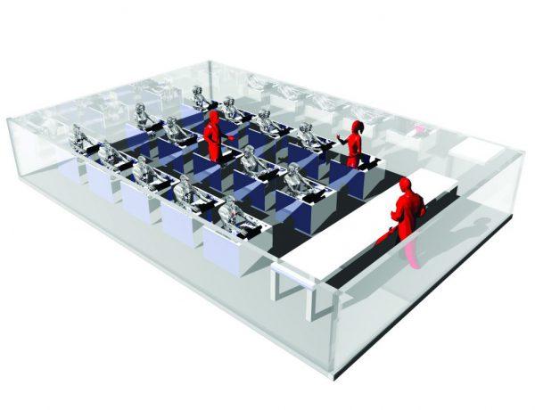 集団実験室  Group Experiment Room